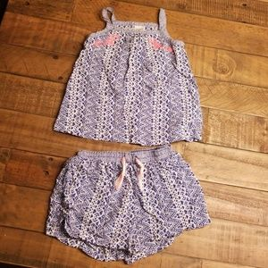 Carters 2 piece summer outfit